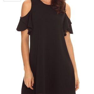 Black swing dress